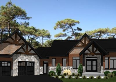 Plan Maison Champetre